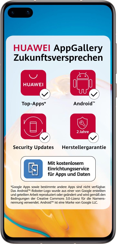 Artikelbild Huawei P40 blush gold 128GB 5G LTE Dual-Sim ohne SIM-Lock ohne Vertrag